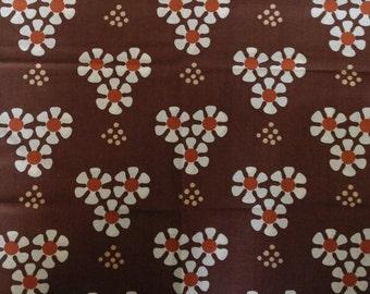 Seventies vintage fabric