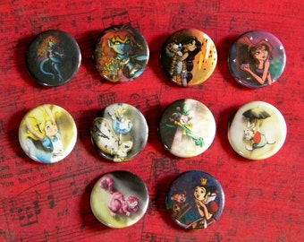 Disney Pin Back Buttons