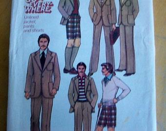 Simplicity 7943 mens wardrobe sewing pattern
