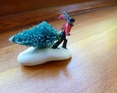 The Perfect  Christmas Tree  HO Scale  Model Train Figure Perfect for Planter or Terrariums