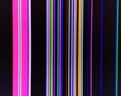 Broken TV Abstract Photo