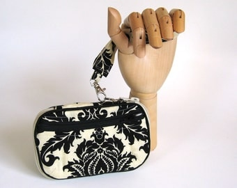 Zip Around Wristlet Wallet Ready to Ship Sized for iPhone 5