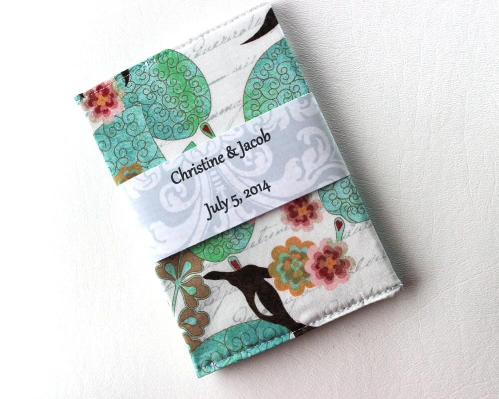 one sample passport case wedding favor