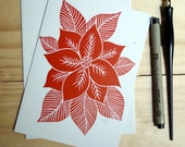 Red flower card - Toshisworld
