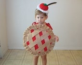 Kids Costume Childrens Costume Pie Halloween Costume Blueberry Cherry Pumpkin Lemon Strawberry