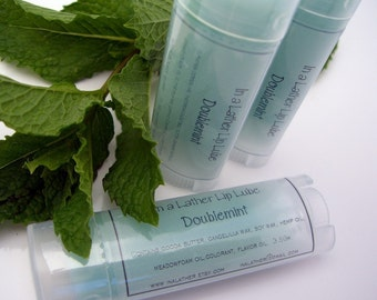 Doublemint Essential Oil Lip Balm
