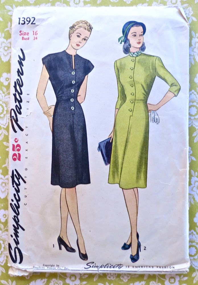 Unique Great Find Free Women39s Dress Pattern  ICandy Handmade