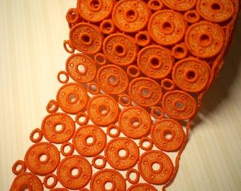 VINTAGE - Orange Donut Trim
