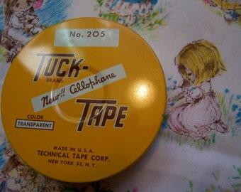 tuck tape tin