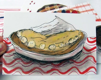 Pie postcards