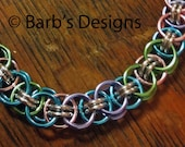 Pastel Chainmaille Bracelet/Anklet