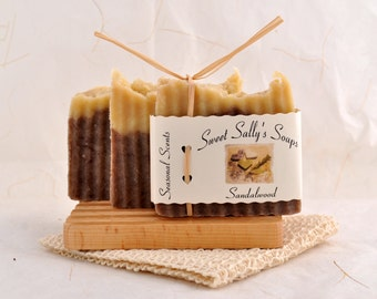Sandalwood Soap, Organic Vegan Soap