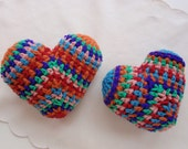 VALENTINE HEART CROCHET Multi Colors