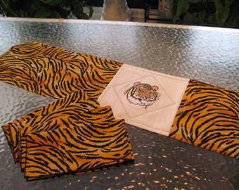 Tiger Dinner Napkins