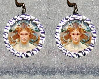 MEDUSA Greek myth Earrings