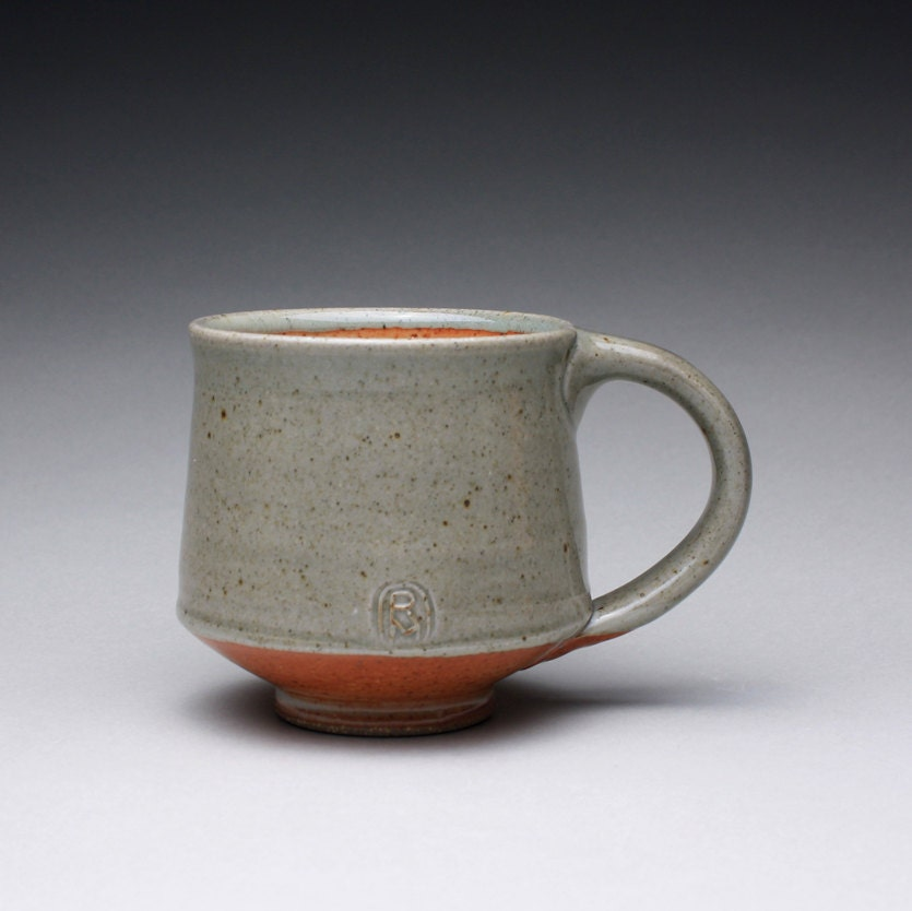 Handmade Pottery Mug Teacup Ceramic Mug With Green Celadon