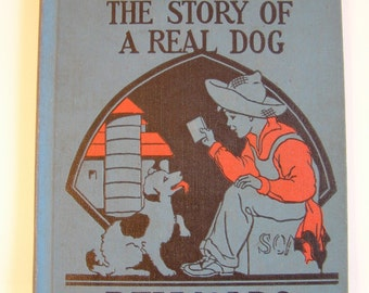 Shug the Pup The Story of a Real Dog Vintage Chapter Book 1920s