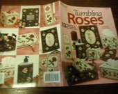 Floral Plastic Canvas Patterns Tumbling Roses Needlecraft Shop 845505 Angie Arickx Pattern Leaflet