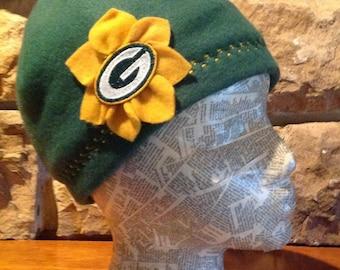 Green Bay Packers Fleece Hat - Womens