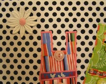 Wall Hanging Fun Textile Art (tex6)