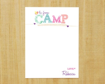 Camp Stationary