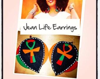 Jean Life Earrings