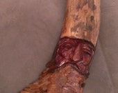 "Hardwood Driftwood Carved ""Slim Jim Menehune"""