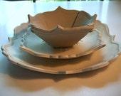 Unglazed Dinnerware Set # 3--Custom Order