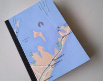 Mini Map Journal - The Hamptons