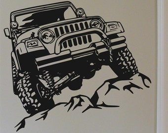 Off Road Rock Crawler Vinyl Wall Decal Graphic