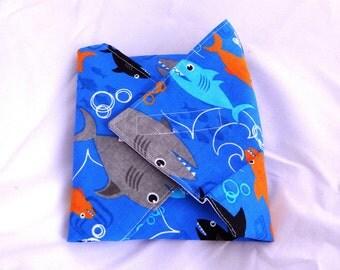 Shark Reusable Sandwich Wrap