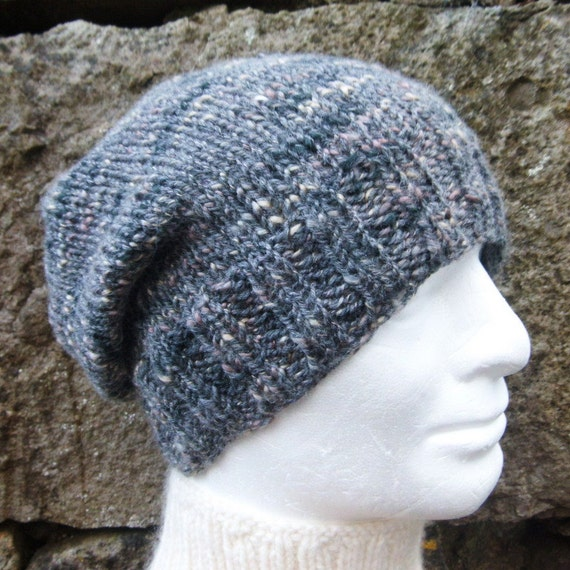 KNITTING PATTERN/CHARLEY Womans Slouchy Beanie Pattern Easy Slouch Hat Patter...