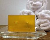 Orange cassette soap