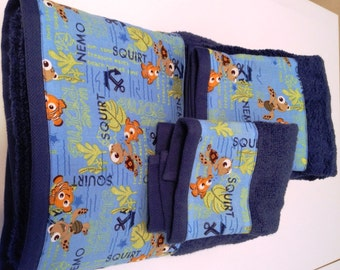 Finding Nemo Towel Set