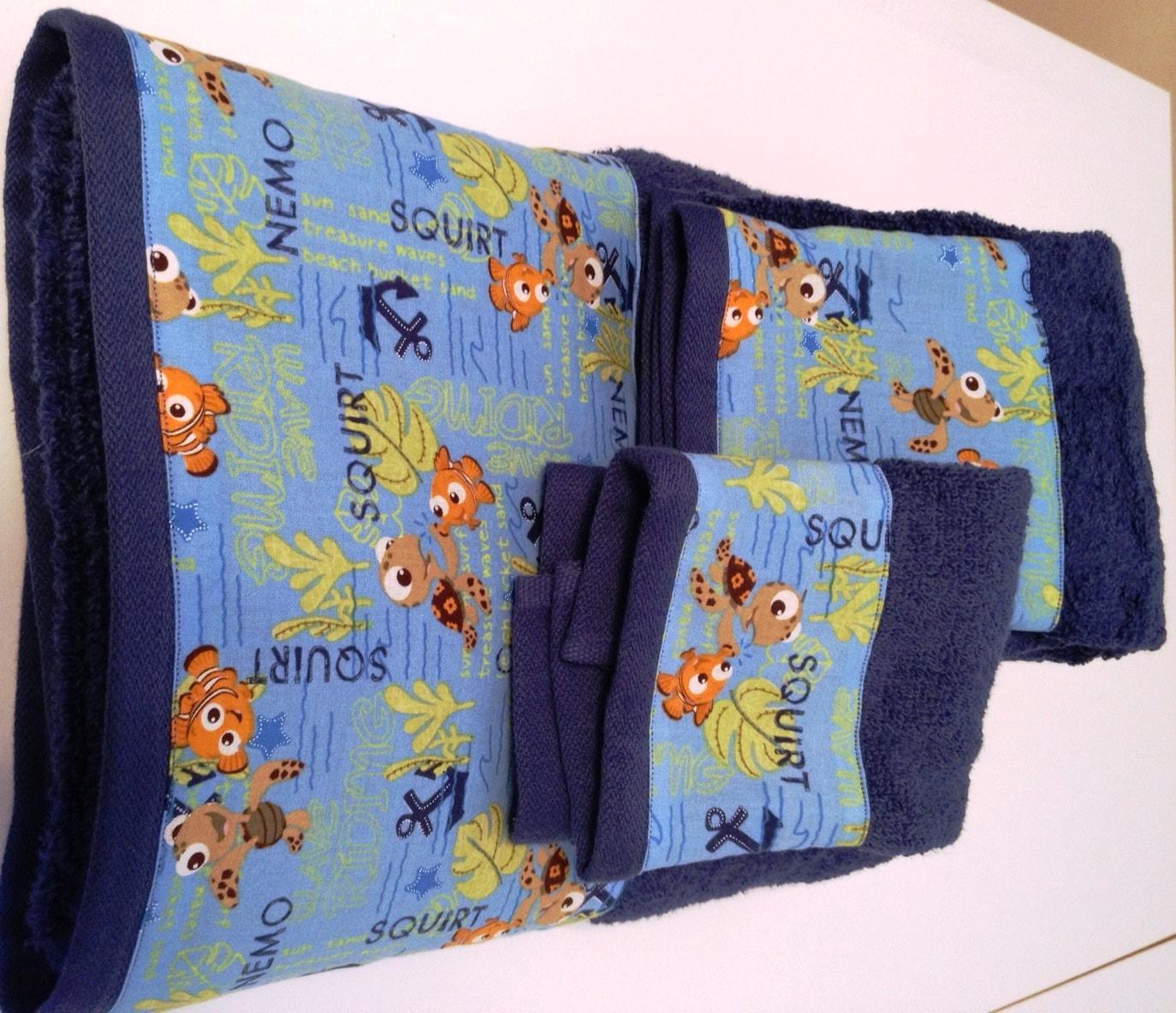Finding Nemo Bath Towel Set: Finding Nemo Towel Set