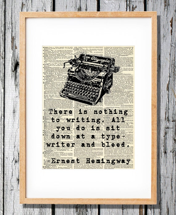 hemingway quotes on writing