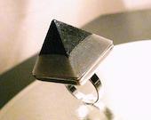 NEW SupHerOrgone Unity Consciousness Orgone Pyramid Ring or Necklace 639hz
