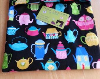Teapots, Colorful Teapots, Tea Microwave Baked Potato Bag