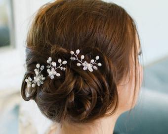 Floral Hairpins Bridal Accessories Wedding Headdress