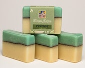 Synergy Soap Bar. Natural/ Handmade/ Artisan. Generous 4.5 oz Vegan Bar. Made with Rainwater & Pure Essential Oils.