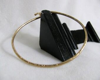 """14K Gold Filled 7 3/4"""" Bangle Bracelet RKS370"""