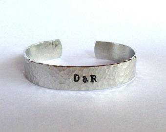 CUSTOM  Couples cuff Bracelet