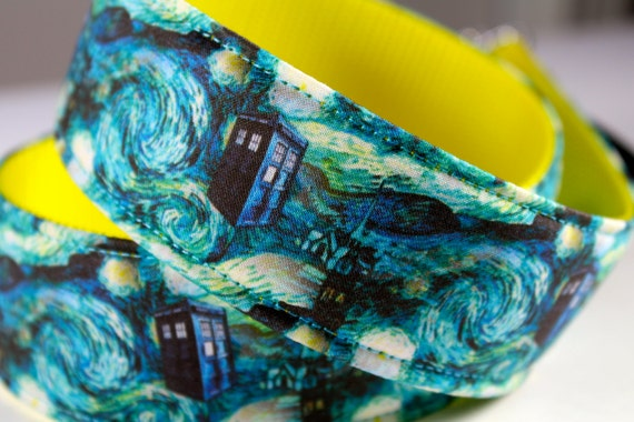 Doctor Who inspired dslr camera strap for use with all models of dSLR and SLR camera styles