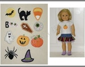 AGD Mini Applique Hallowe'en Embroidery Design Set