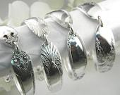 Bridesmaids Bracelets, Spoon Bracelets, FREE ENGRAVING, Vintage Spoon Bracelets, You Choose Quantity, Bridesmaids Gifts, Victorian Wedding