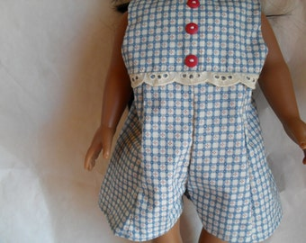JumpSuit for American Girl Gotz HandMade Doll Clothes JumpSuit
