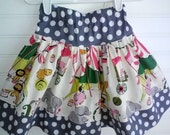 Circus Circus Little Girls Twirl Skirt. Size 6 Months to size 8