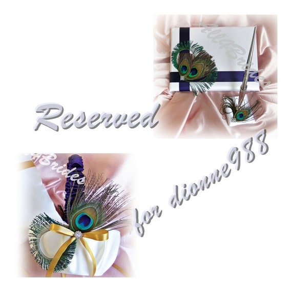 Reserved listing for  dionne988