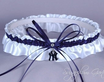 New York Yankees Wedding Garter
