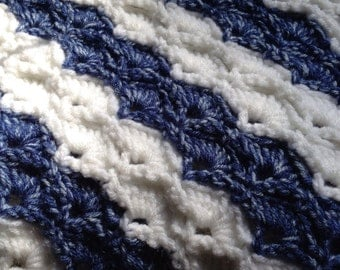 Ocean Waves Blanket/Lapghan
